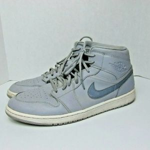 Nike Air Jordan 1 One Mid Retro Wolf & Cool Gray